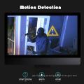 Sistema da câmara da segurança interna do jogo de NVR com vigilância video da câmera do IP
