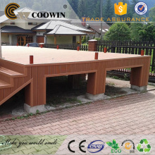 Outdoor plastic lumber facade engineered flooring
