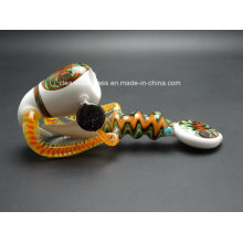 Factory Wholesale! Beautiful Hand Made Heady Glass Pipe Smoking Pipe
