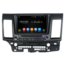 Android 7.1 Auto dvd-gps voor Mitsubishi Lancer