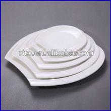 """Plaque ovale en porcelaine de 8 po 10 """"12"""" 14 """"16"""""""
