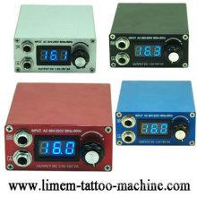 Digital Mini Tattoo Machine Power Set kit W Foot Pedal Clip Cord Supply