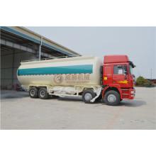 China Factory produzieren Sinotruk Powder Tanker Trucks mit 8 * 4 LHD Lenkung