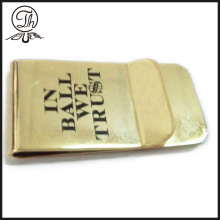 Brass metal printed money clips
