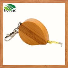 Mini Bamboo Measuring Tape