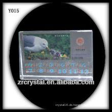 Bunter Druck Foto Kristall Y015