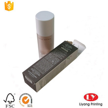 boîte de carte papier bon marché pour l'emballage cosmétique