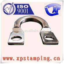 Fabricação de chapas na China de peças de contator de estampagem de metais