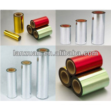 Metallized aluminized film