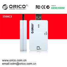 Cartão ORICO 5566C3 lido para usb 3.0 hub & 2.1 & 1.1