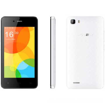 Android 4.4, Sc7731c [Qual-Core 1.0GHz], 3.97 '' WVGA Tn (faux IPS) [480 * 800] Smartphone