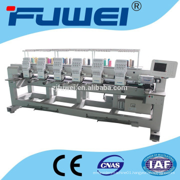 cap/flat new 6 heads cap embroidery machine