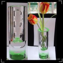 Florero decorativo cristalino de la nueva manera para el hogar y la oficina y boda