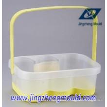 Molde plástico do agregado familiar de alta qualidade 2014 (tabela / cadeira / Cratef)
