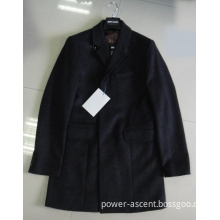 2015 Men Fashion Jacket Long Style Black