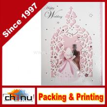 Cartão do casamento / aniversário / Natal (3338)