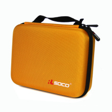 Factory supply custom hard shell zipper spectacle zip case
