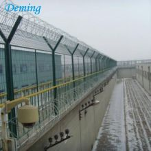 Factory Direct Powder Coated Airport Fence