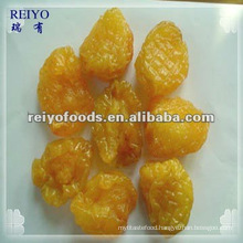 Dried peach halves with sugar
