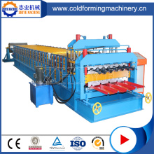 Colored Steel Double Decker Roofing Sheet Making Machine