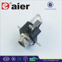 Tamaños Daier de 6,35 mm de conectores de audio para conector de audio