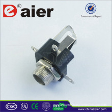 Daier 6.35mm Sizes of Audio Jacks for Audio connector
