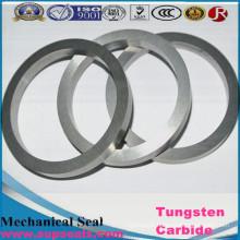 Anéis de vedação mecânicos profissionais personalizados do carboneto de tungstênio