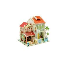 Juguetes de coleccionables de madera para casas globales-Singapur Antique Store