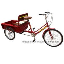 Tricycle pousse-pousse motorisé pour personnes âgées (FP-TRCY029)