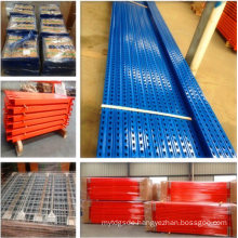 USA Teardrop Steel Metal Warehouse Storage Heavy Duty Demountable / Welded Beam Pallet Rack