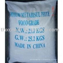 Le métabisulfite de sodium