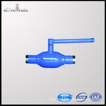 1PC ball valve forged welding ball valve DN40