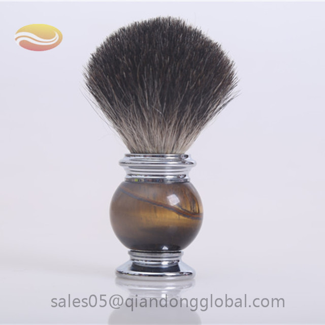 Jade handle Black Badger Shaving Brush Knot