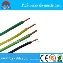 Одножильный силовой кабель медного проводника с полным сечением