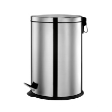 20 Litre Stainless Steel Round Shape Pedal Bin