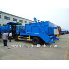 8000L Dongfeng balanço braço caminhão de lixo
