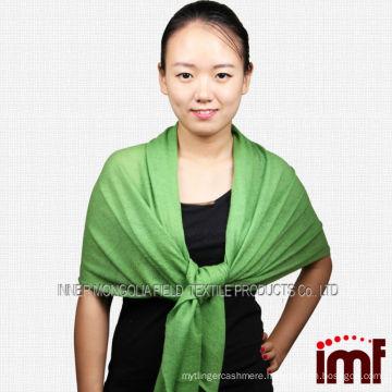 Factory 2014 Solid Color Soft Fashion Cashmere Knit Scarf, hot sale cashmere shawl