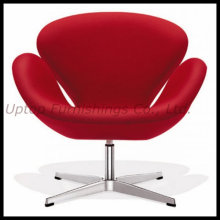 Italian Comfortable Colorful Leisure Swan Leather Chair (SP-HC165)