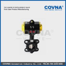 DN50-DN600 actuador neumático de válvula de mariposa regulada