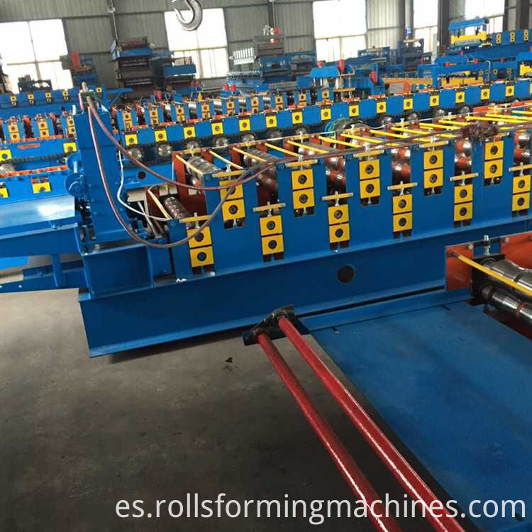 Good Configuration High Quality Single Layer Trapezoid Roll Forming Machine