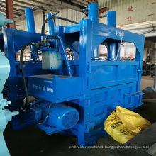 Automatic Hydraulic Waste Cardboard / Plastic / Pet Bottle Baler Press Machine