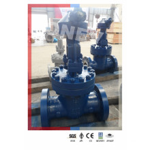"Gear Operated DIN Standard Rising Stem Gate Valve (6""-150lb)"