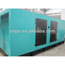 400kw/500kva water-cooled 6 cylinder diesel generator power plant with brushless ac generator head