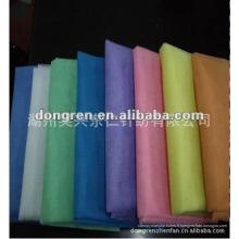 Tissu en maille de polyester de différentes couleurs