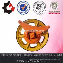 Ensamblaje de rueda de cuerda de fundición de acero aleado