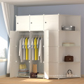 Useful Mulit Color Canvas Clothes Storage Cabinet Wardrobe