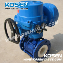 Ceramic Floating Ball Valve with Electric Actuator