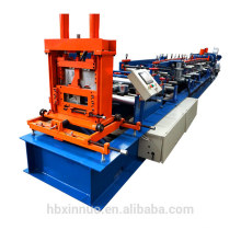 2017 new design full automatic C purlin roll forming machine