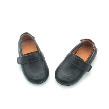 Venta al por mayor Soft Walk Unisex Retro Leather Baby Shoes