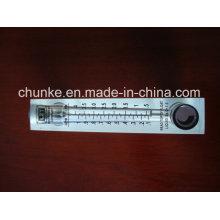 Flujómetro de agua ajustable Lzm-4tt / 8t para la planta de tratamiento de agua
